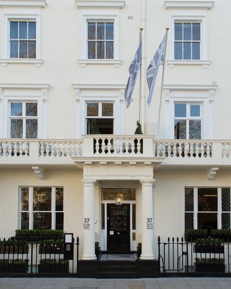 Eccleston Square Hotel, London, hotel review