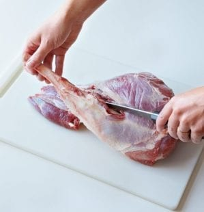 How to butterfly a leg of lamb for the barbecue