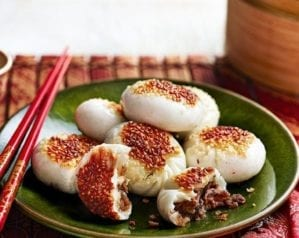 How to make steamed and fried beef buns