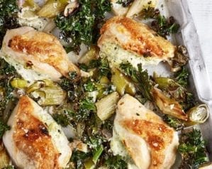 One-tray roast chicken – video