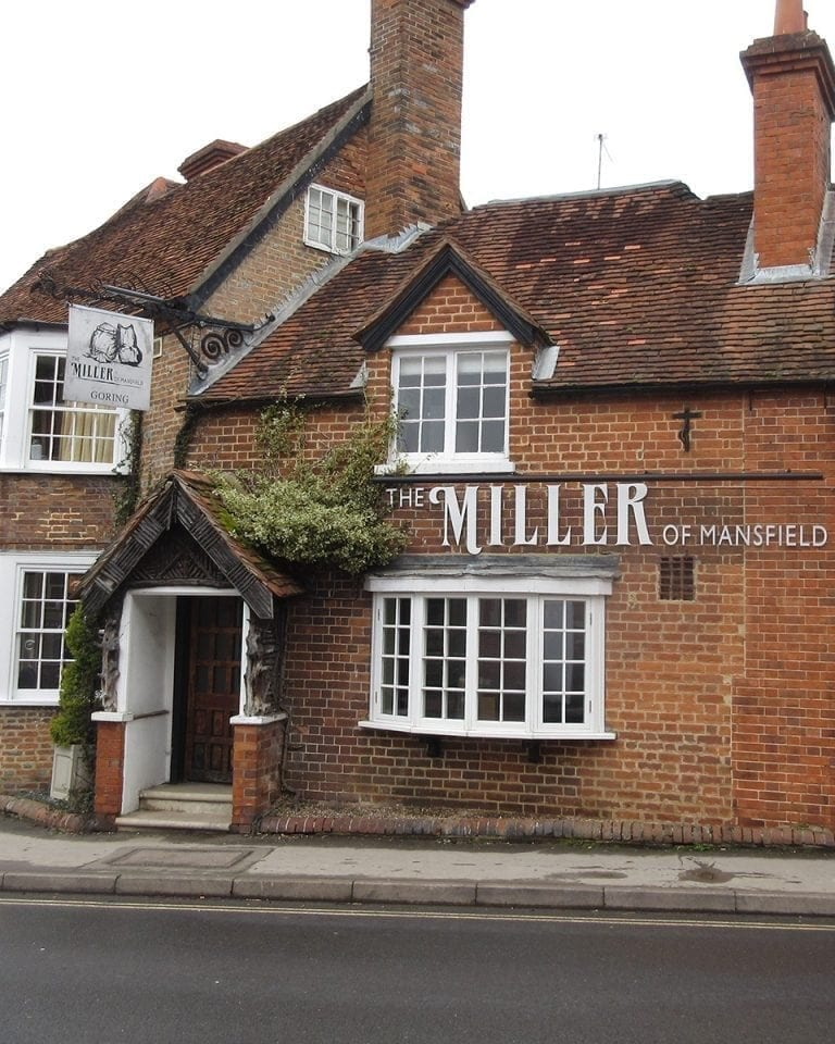 The Miller of Mansfield, Goring, hotel review