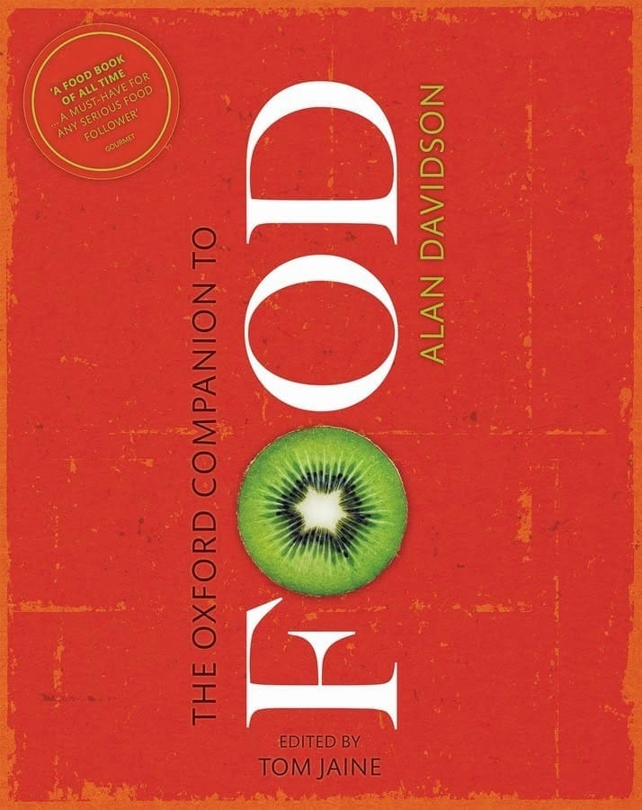 It's out! The new Oxford Companion to Food (and you could win a signed copy)