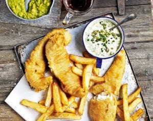 British recipes - Fish and Chips