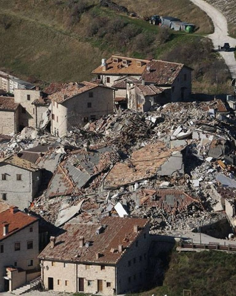 Rising from the rubble: life in Sarnano after the earthquakes