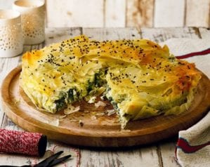 Greek recipes - Spanakopita