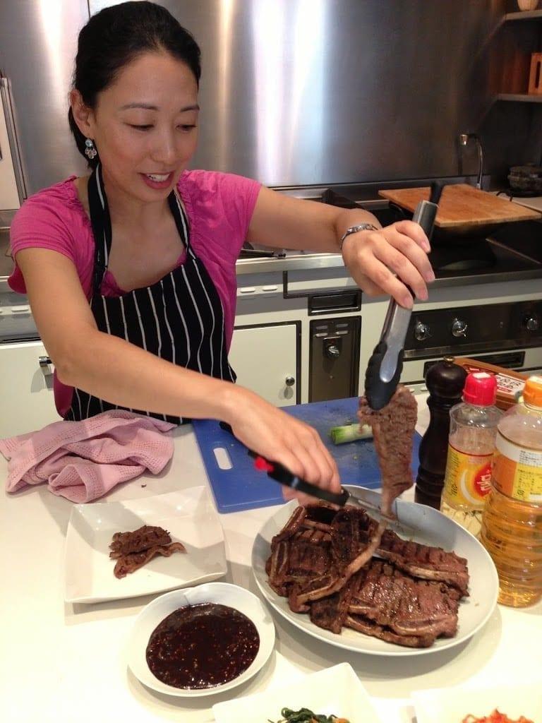 We love Korean barbecue!