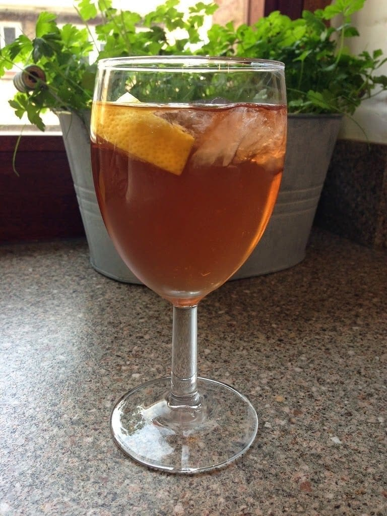 Friday cocktail: summer cup