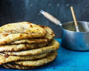 Indian recipes - Naan breads