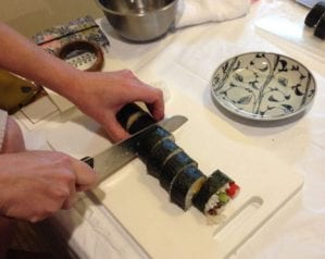 How to make home-style sushi