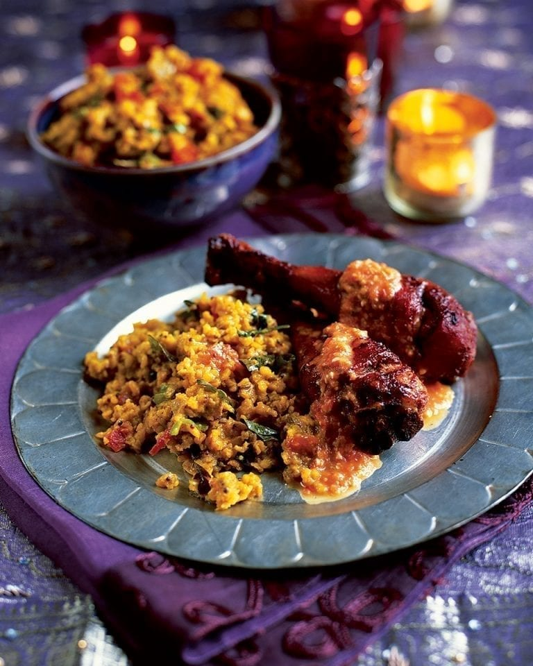 Masala dal (garlicky spiced lentils)