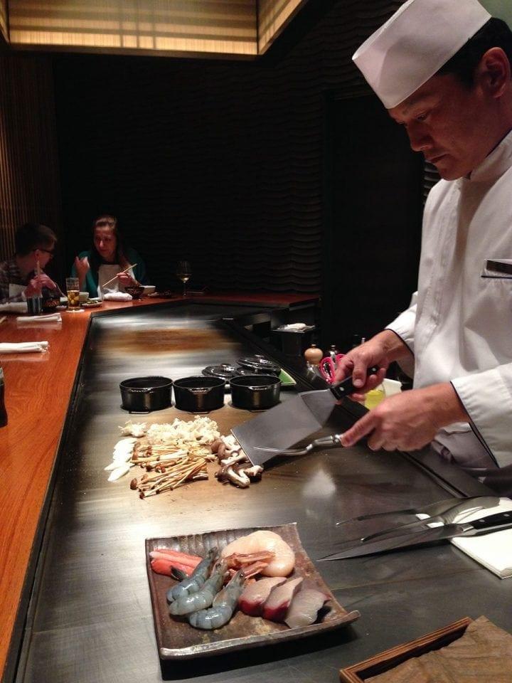 What is teppanyaki?