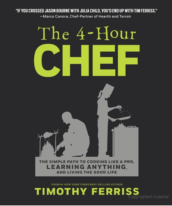 Review: The 4-Hour Chef by Timothy Ferris