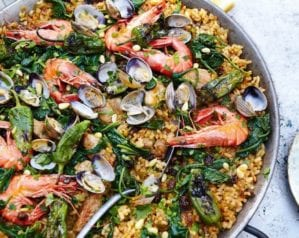 Spacnish recipes - Paella