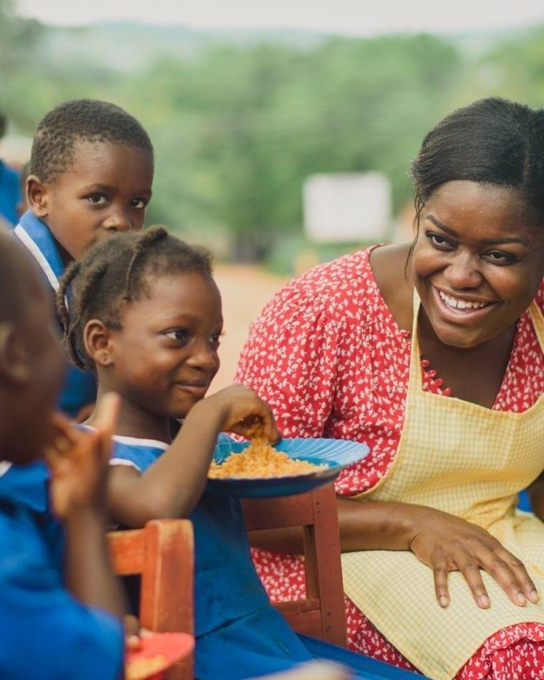 Baking in Ghana, with Benjamina