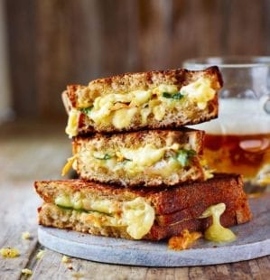 What makes the ultimate cheese toastie: listen now