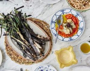 Celebrating the calçotada festival