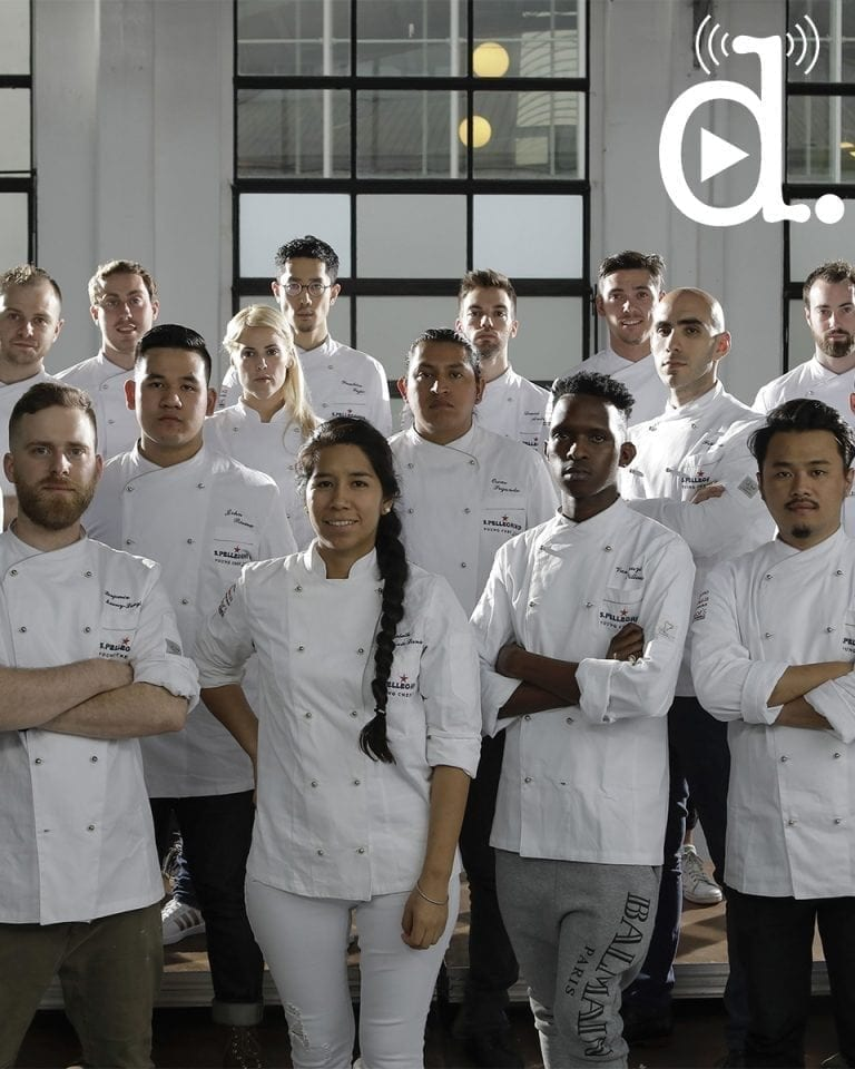 An insight into the S. Pellegrino Young Chef Finals: listen now