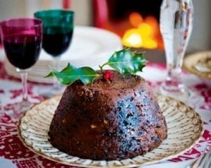 How to flame a Christmas pudding