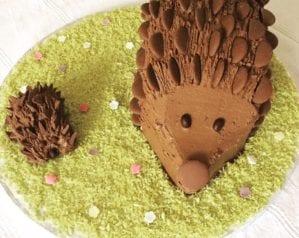 How to make a chocolate hedgehog cake