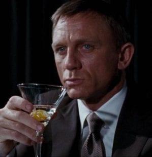 Shaken not stirred: The drinks of James Bond