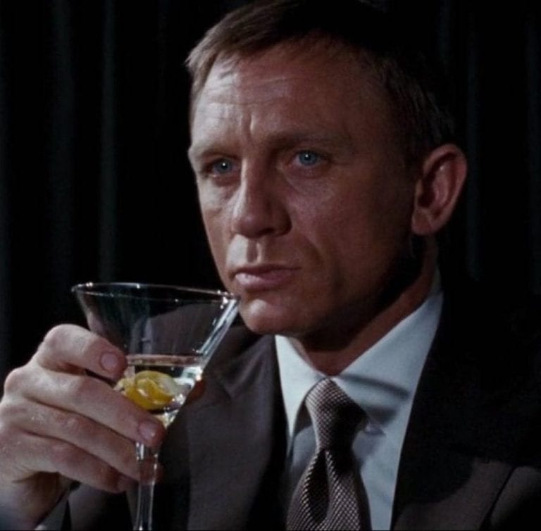 Shaken not stirred: The drinks of James Bond