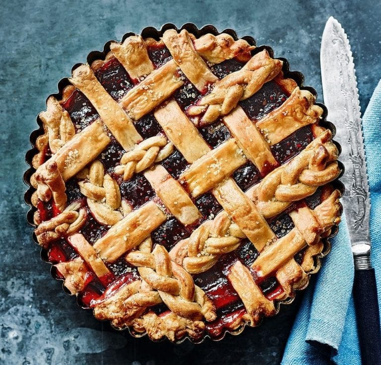How to make a lattice pie topping… as seen on our September cover