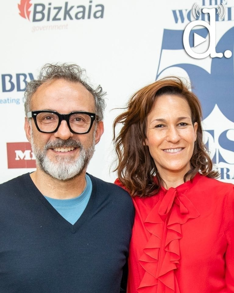 Massimo Bottura and Lara Gilmore's thoughts on food, soul and marriage: listen now