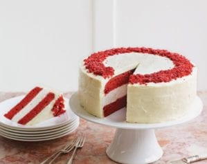 The ultimate red velvet cheesecake