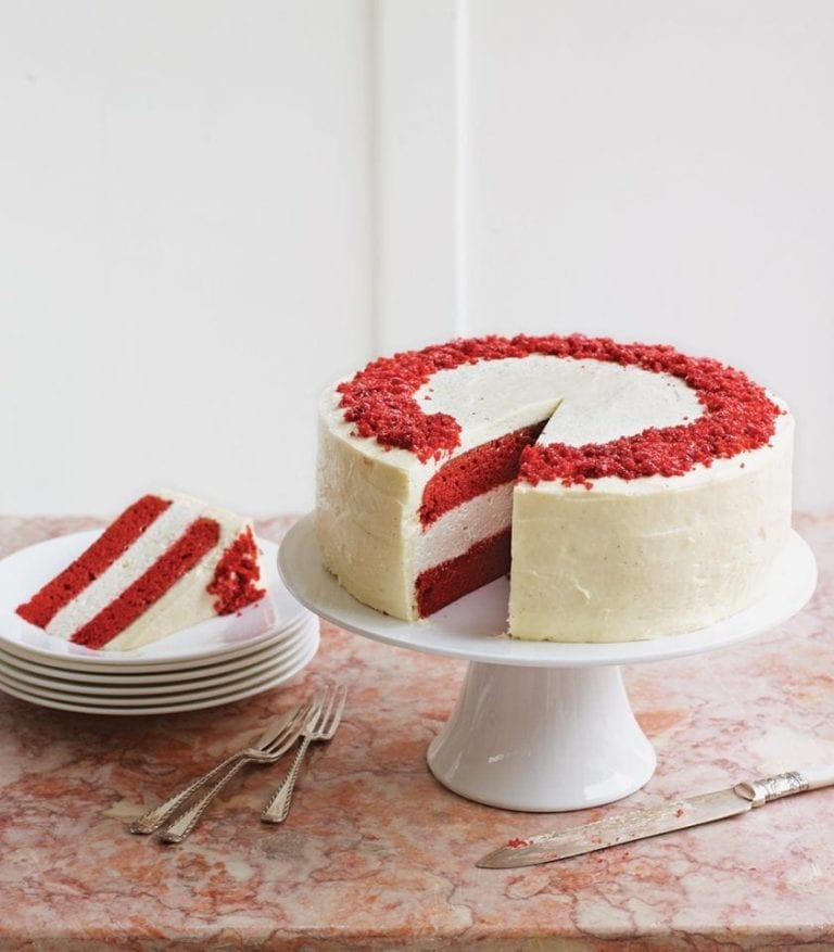 How to make a red velvet cheesecake
