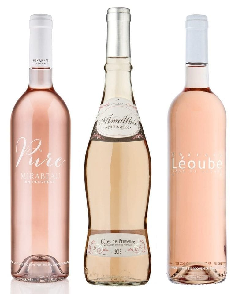 Rosé wines for summer and recipes to go with them
