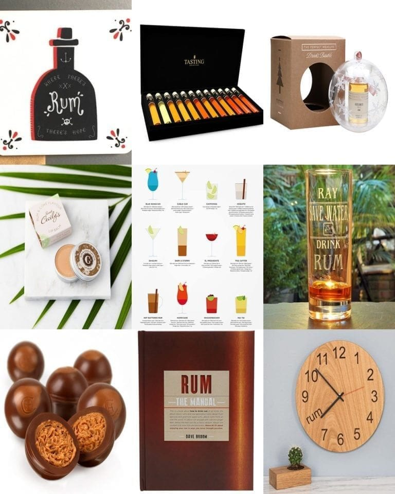 10 gifts for rum lovers