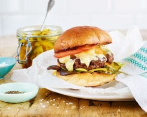 Have I just made Britain's best burger?