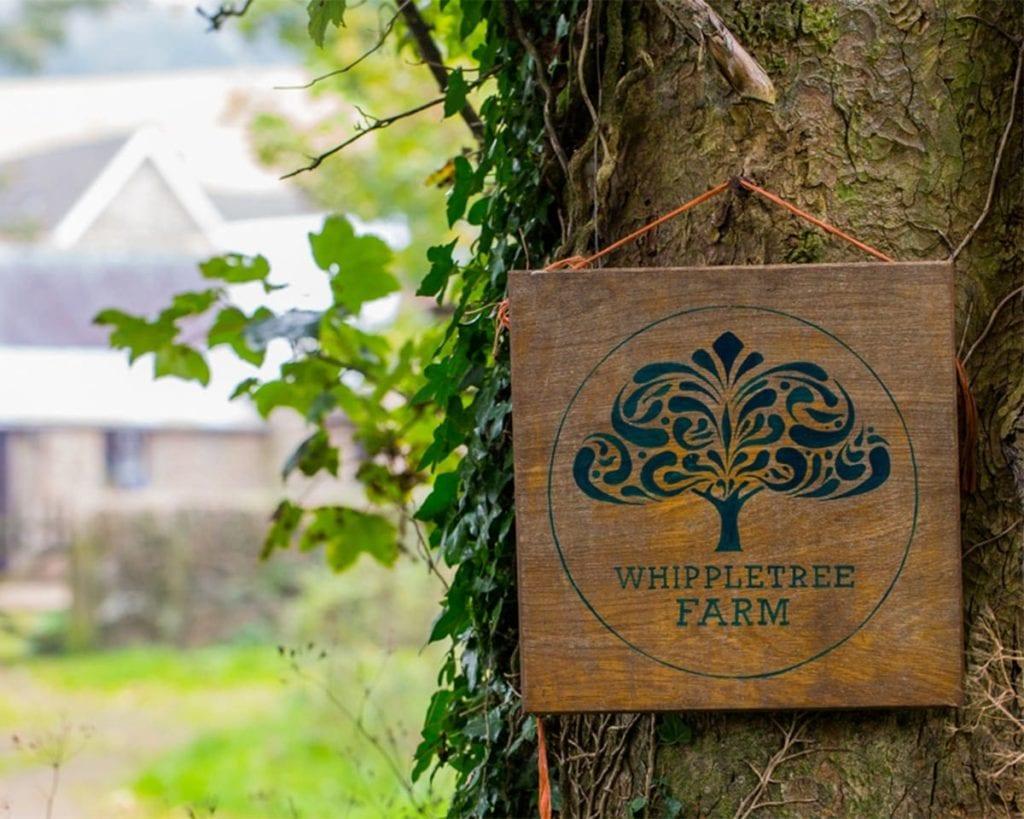 Whipple Tree Farm sign