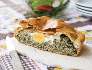 Torta Pasqualina (spinach and ricotta pie)