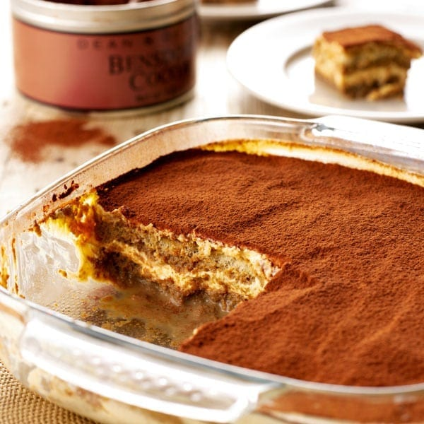 Irish cream tiramisu