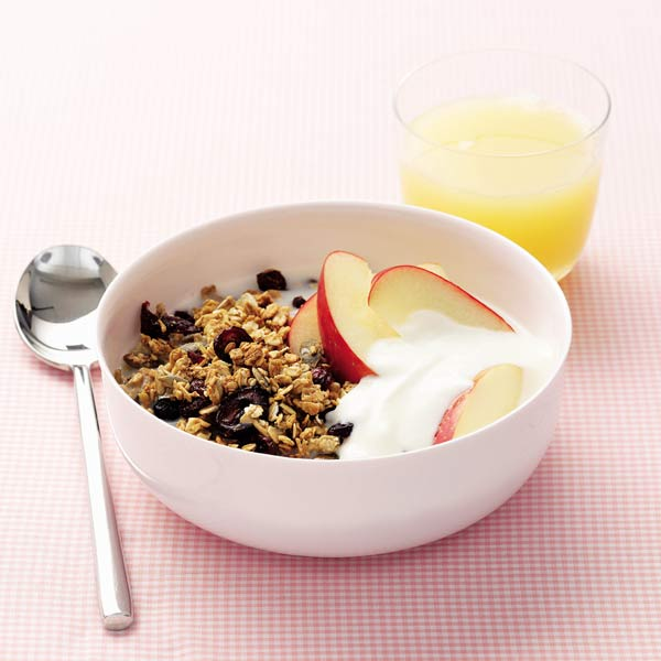 Five-seed maple granola