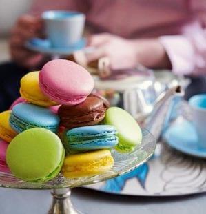 Multicoloured Macaroons Recipe Delicious Magazine