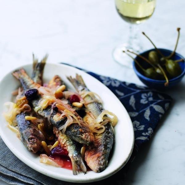Sardines in saor