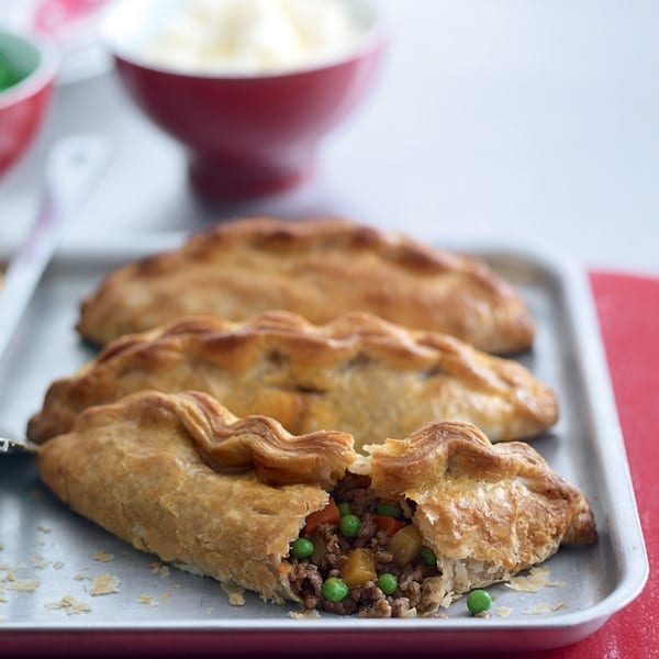 Beef and Guinness pasties
