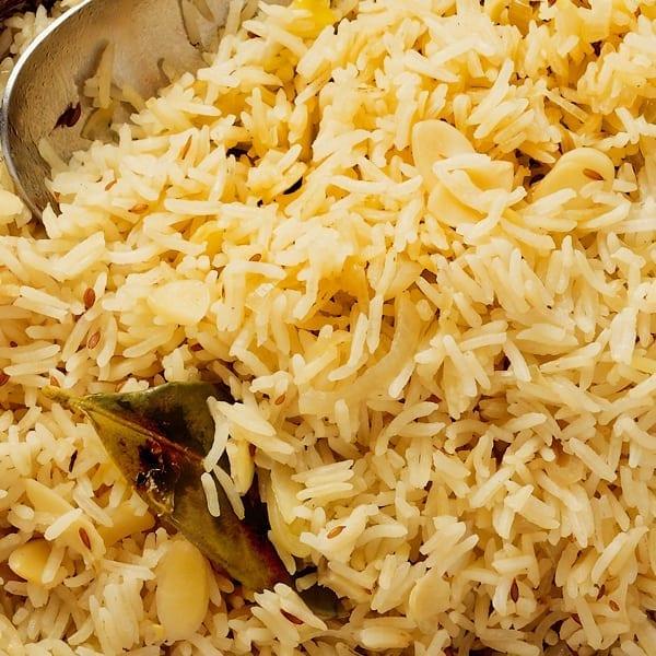 Baked fragrant rice