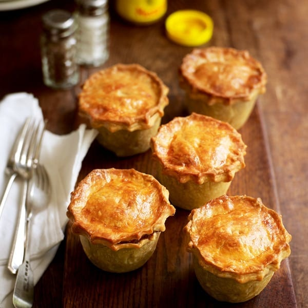 Individual Beef Pies Recipe Delicious Magazine