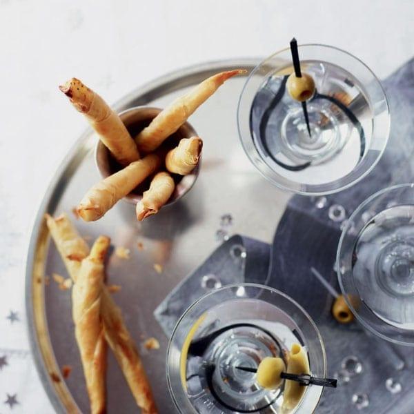 Cheesy filo fingers