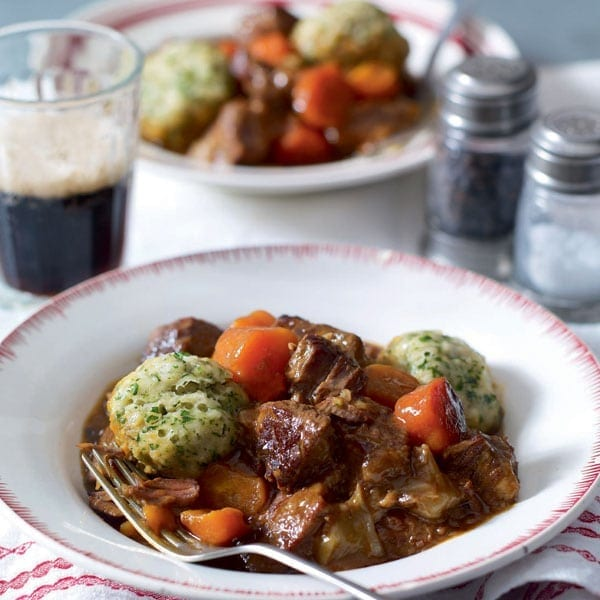 Beef Stew With Dumplings Recipe Delicious Magazine