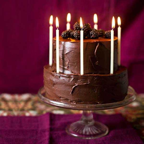 Strange Chocolate Celebration Layer Cake Recipe Delicious Magazine Funny Birthday Cards Online Overcheapnameinfo