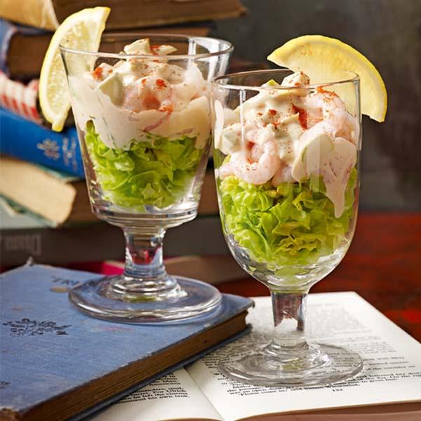Easy prawn cocktail