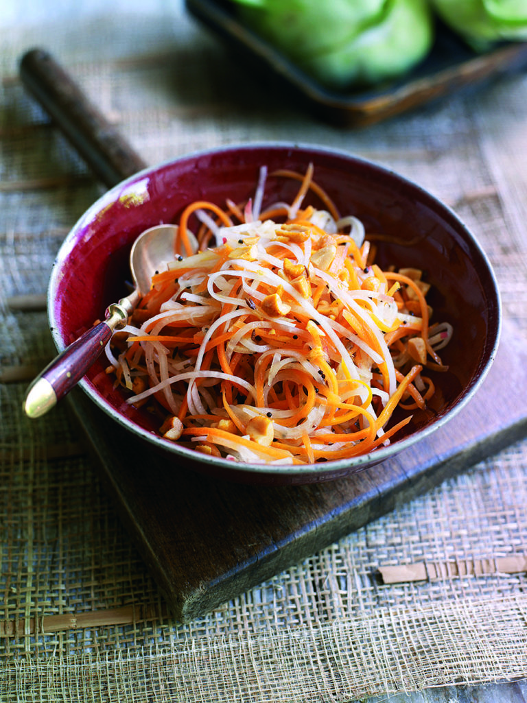 Kohlrabi And Carrot Slaw Recipe Delicious Magazine