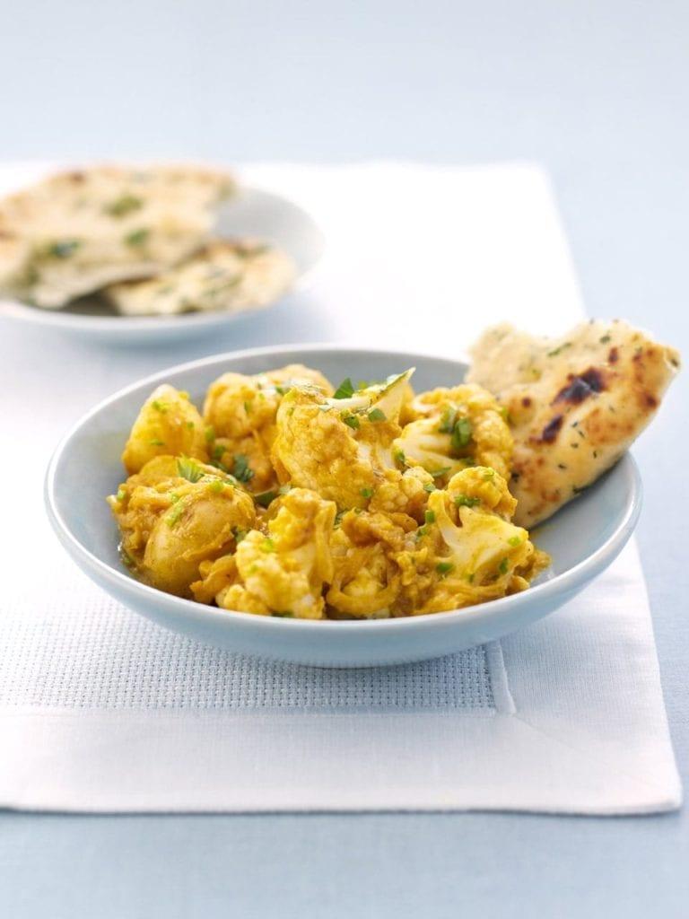 Spiced cauliflower curry
