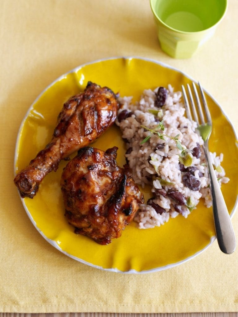 Easy jerk chicken