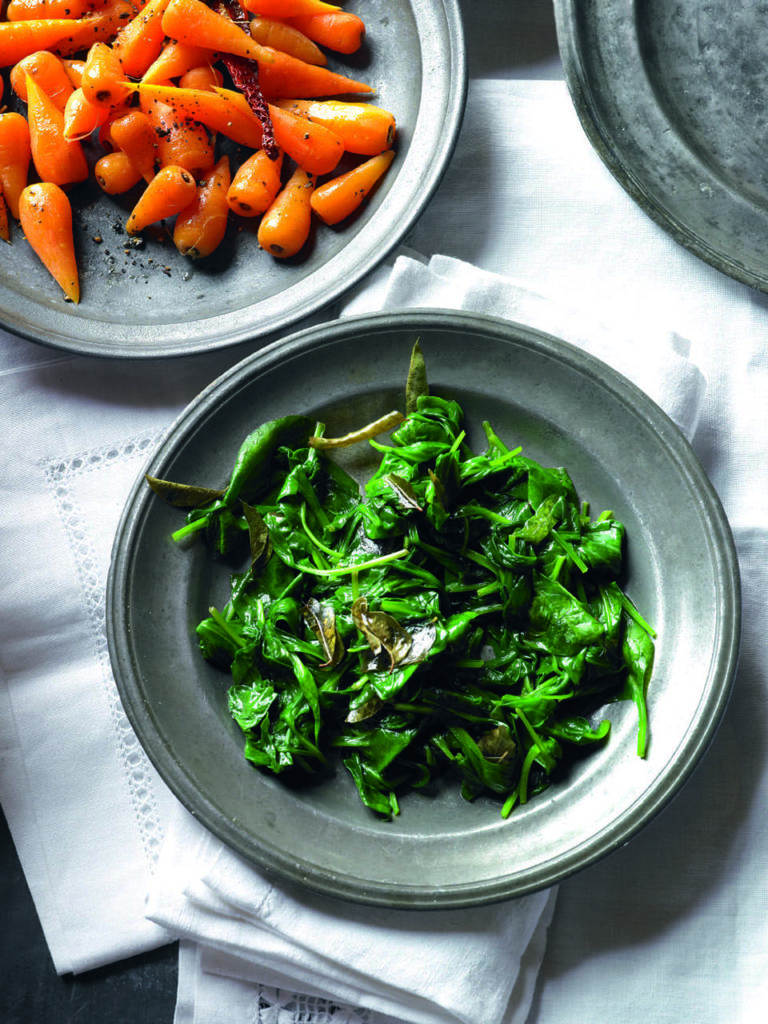 Fenugreek spinach