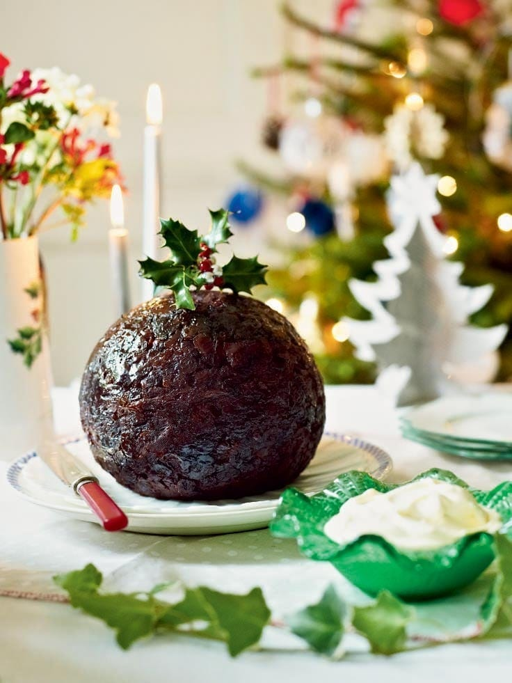 Suet-free Christmas pudding